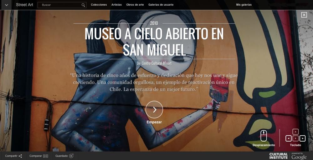 Coleccion Museo a Cielo Abierto San Miguel Street Art Project Google