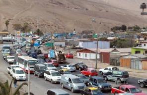 ruta Iquique - Alto Hospicio