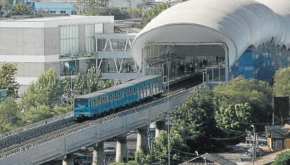 estudio transporte público santiago