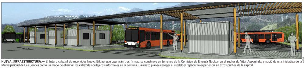 propuesta terminales buses transantiago