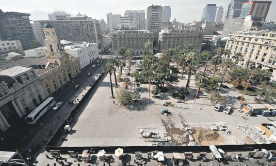 Remodelación Plaza de Armas Santiago