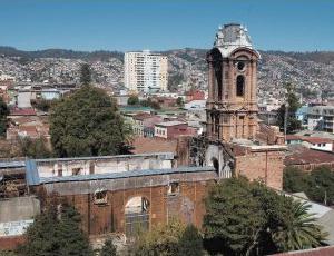 iglesia San Francisco en cerro Barón