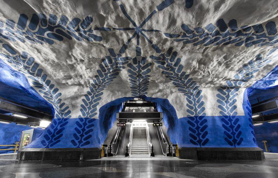 Estación T-Centralen.