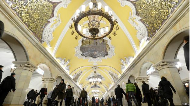 Komsomólskaya, Moscú. Fuente BBC