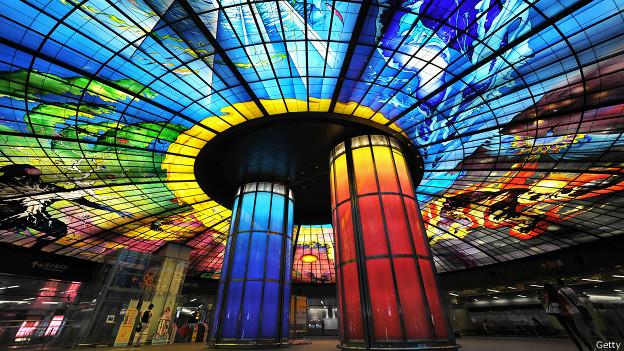 Formosa Boulevard, Kaohsiung. Fuente: BBC