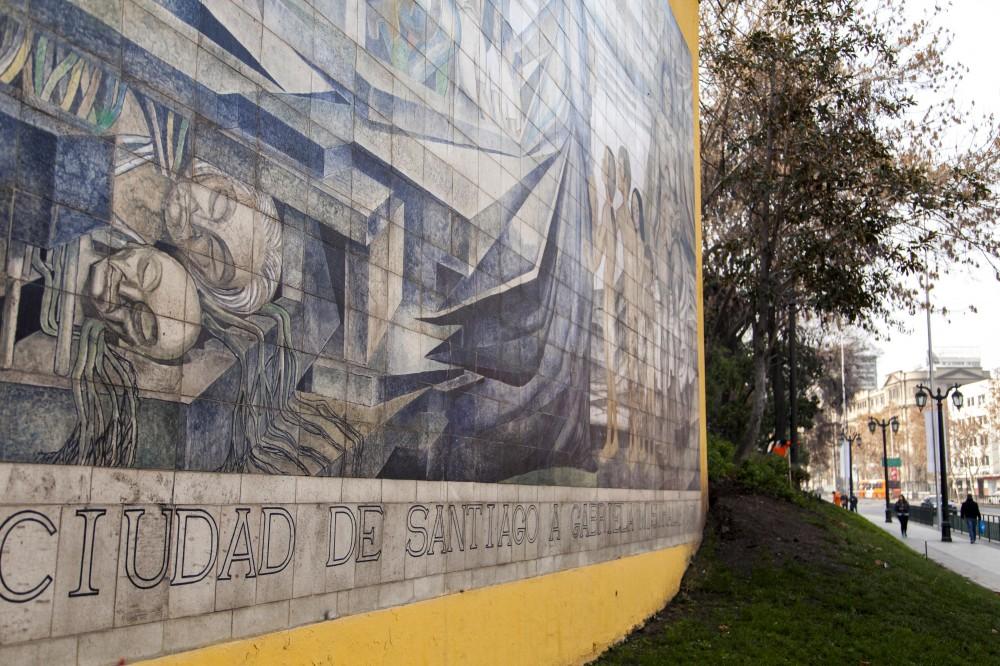 Mural en homenaje a Gabriela Mistral de Fernando Daza Osorio 3 © Plataforma Urbana