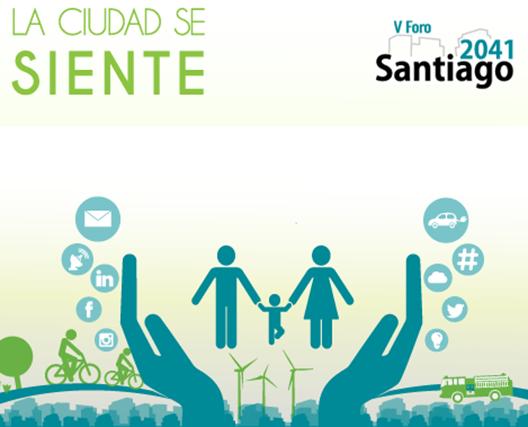 Afiche Santiago 2041 - Edición 2014