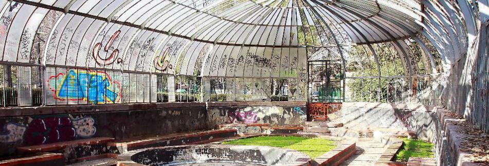 Invernadero Parque Quinta Normal