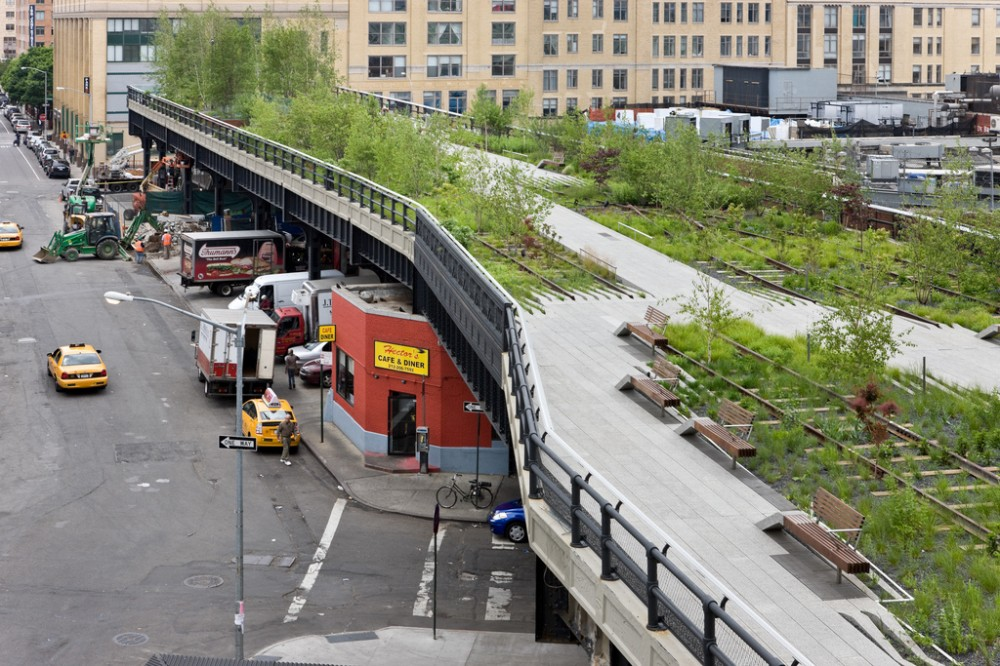 Fuente: The High Line, New York