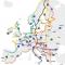 EuroVelo Mapa