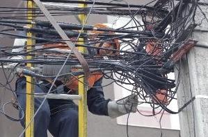 soterramiento de cables