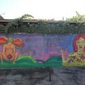 Mural Dia de la Mujer de colectivo Amancay