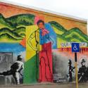 """""""Niño asesinado en Dictadura"""" de Carlos Fariña. Cortesía de Museo a Cielo Abierto La Pincoya"""