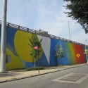"""""""Dumbo Walls"""" de  Two Trees Management Co. © NYCDOT"""