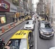 tacos congestión vial providencia santiago