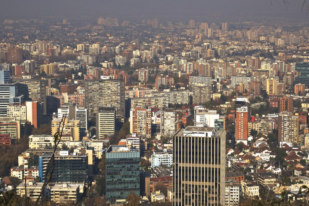 Contaminación en Santiago de Chile. © alobos Life, vía Flickr.