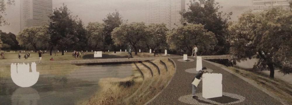Render Propuesta Lateral. Image © Plataforma Arquitectura
