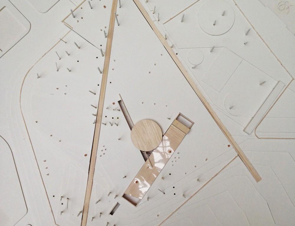 Maqueta Propuesta Bbats + Tirado. Image © Plataforma Arquitectura