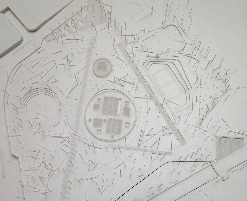 Maqueta Propuesta Gerardo Valle. Image © Plataforma Arquitectura