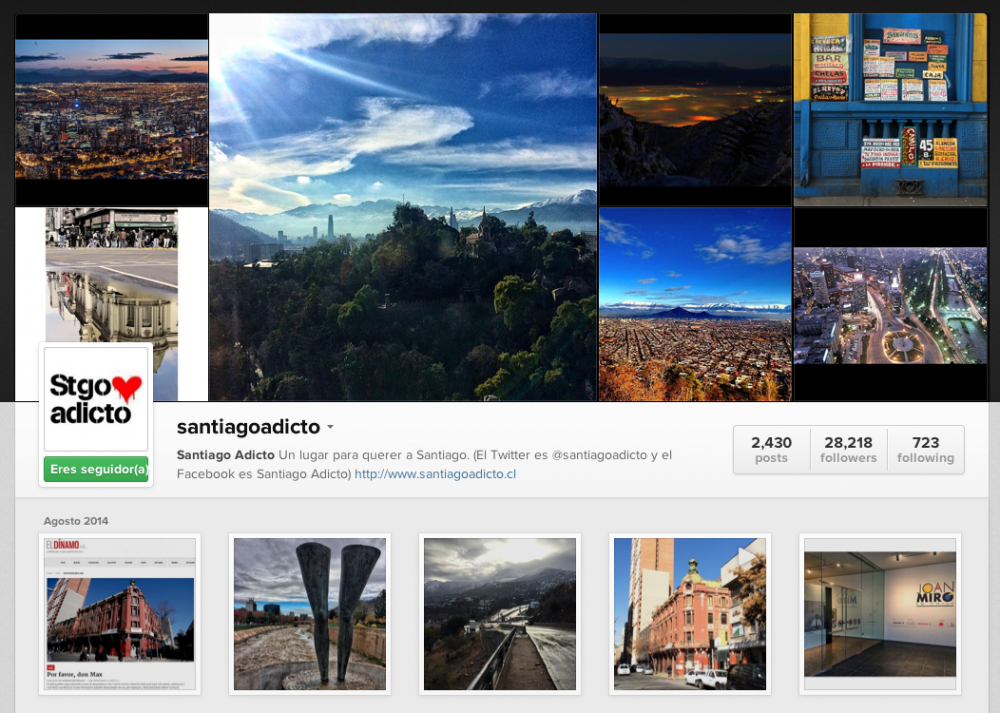 Instagram santiagoadicto