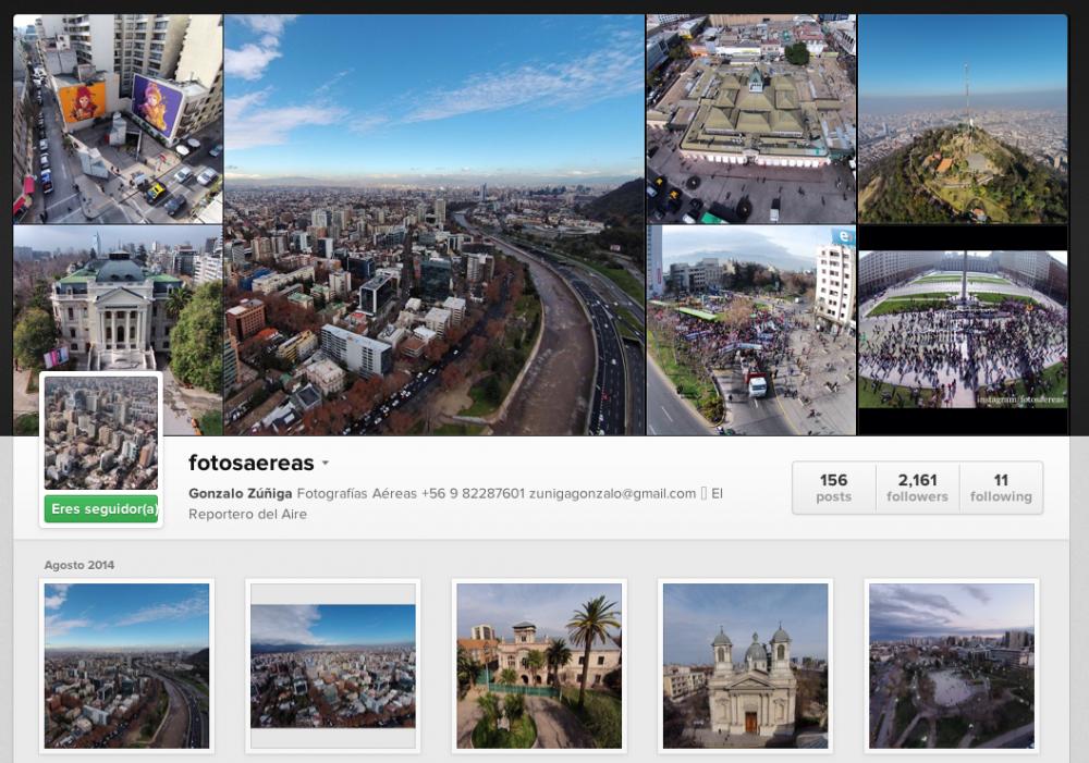 Instagram fotosaereas