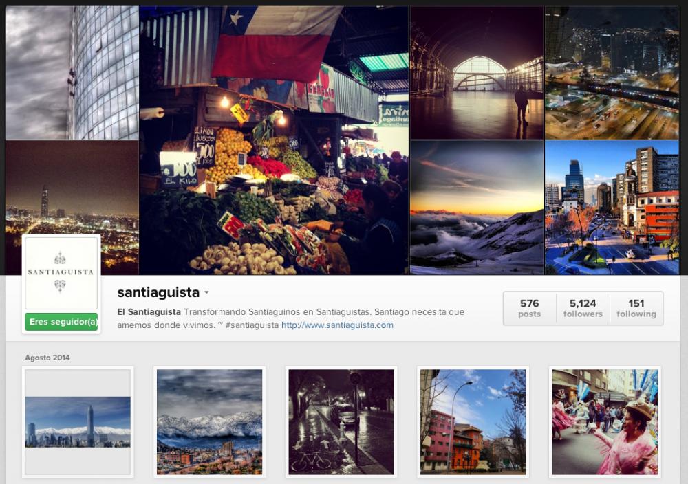 Instagram santiaguista