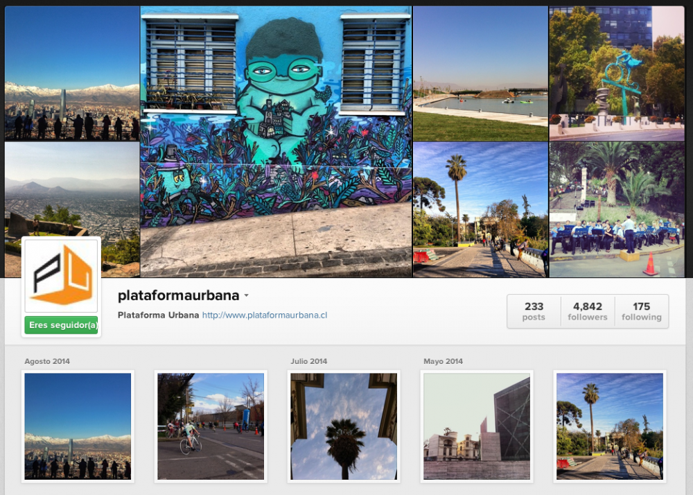 Instagram plataformaurbana