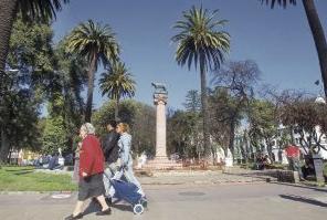 remodelación Parque Italia en Valparaíso