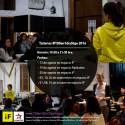 Afiche talleres 100 en 1 Día Santiago 2014