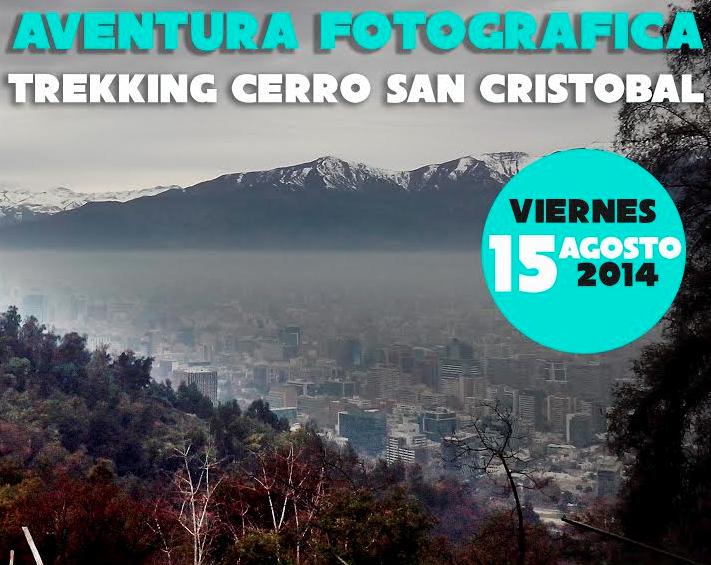 Afiche curso fotografía Cerro San Cristóbal