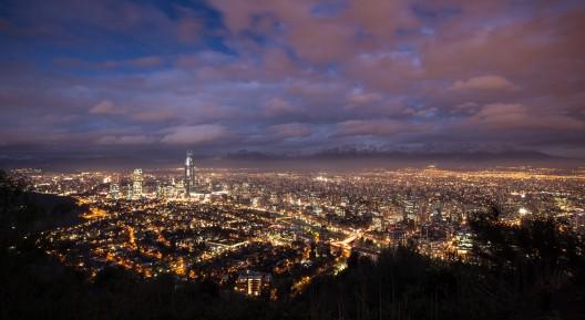 Santiago desde el Cerro San Cristóbal © Lihor Gurvich