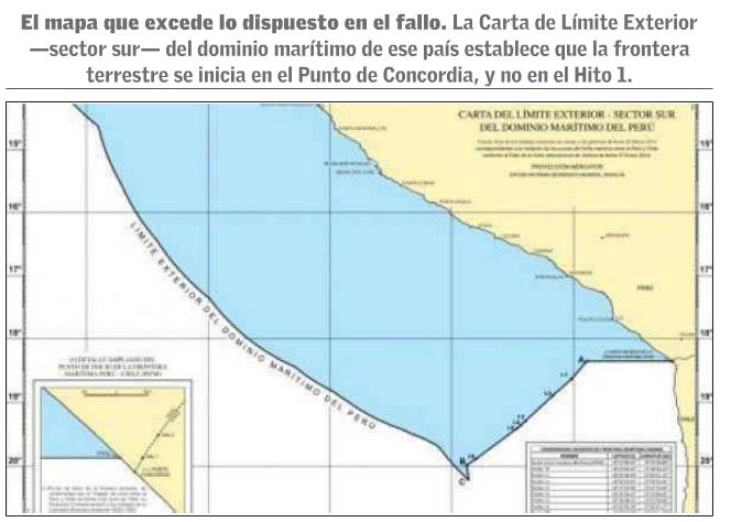 nuevo mapa peruano límites