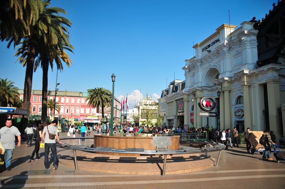 Guia Urbana de Santiago Barrio Meiggs y Estacion Central © Plataforma Urbana