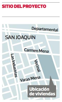 Proyecto en San Joaquín, Minvu