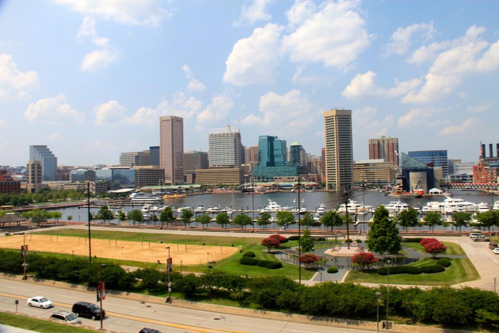 Inner Harbour, Baltimore. © danxoneil, vía Flickr.