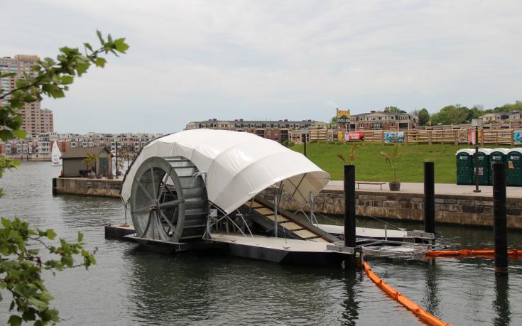 Water Wheel Baltimore 2