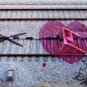 """""""Ataque al corazón"""" por Aka Bordalo II."""