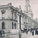 Correo Central - Postal Correo Central. Gentileza Santiago Nostálgico. Cortesía Lugares de Ciencia