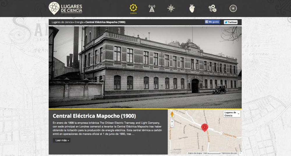 Presentación Central Eléctrica Mapocho