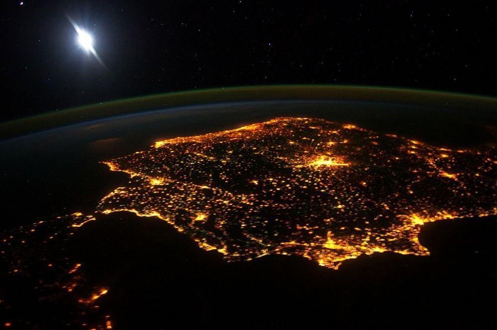 España y Portugal, Península Ibérica.