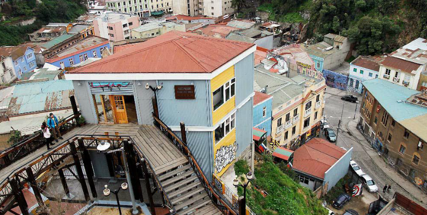 ascensor Reina Victoria Valparaíso