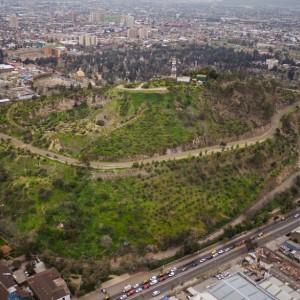 Cerro Blanco desde el aire © Gobierno de Chile via Flickr