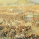 """Afiche """"Santiago, de la Quintrala a La Victoria, cuatro siglos de historia"""""""