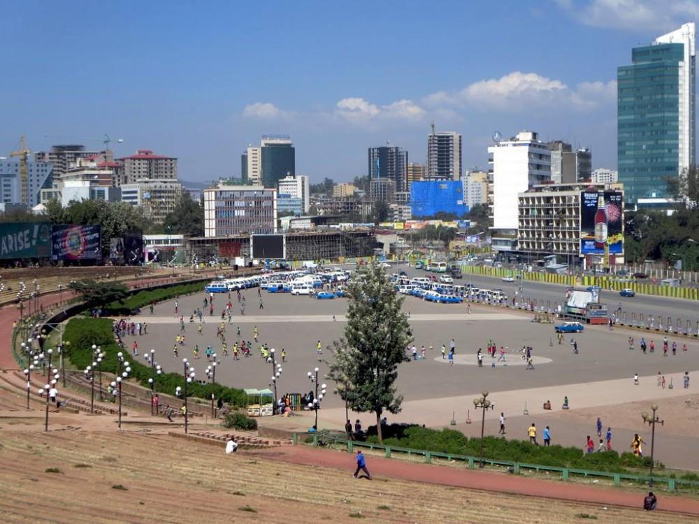 Adís Abeba, Etiopía. © D-Stanley, vía Flickr.