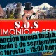 Afiche Bicipaseos Patrimoniales SOS Patrimonio en Peligro