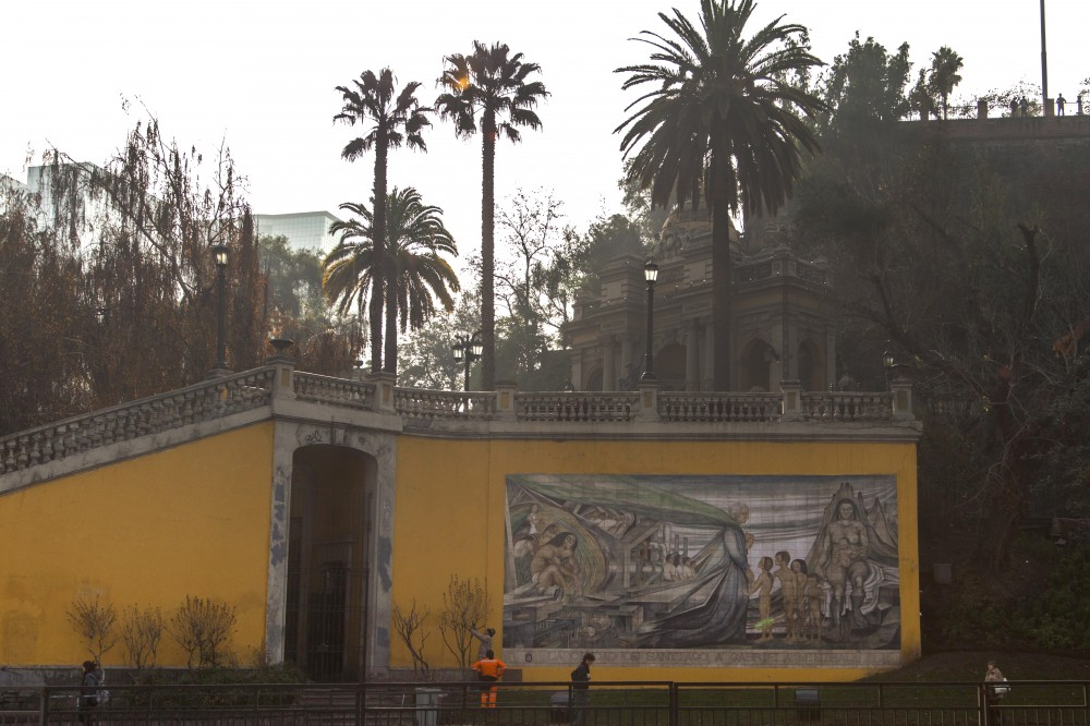 Mural en homenaje a Gabriela Mistral de Fernando Daza Osorio 5 © Plataforma Urbana