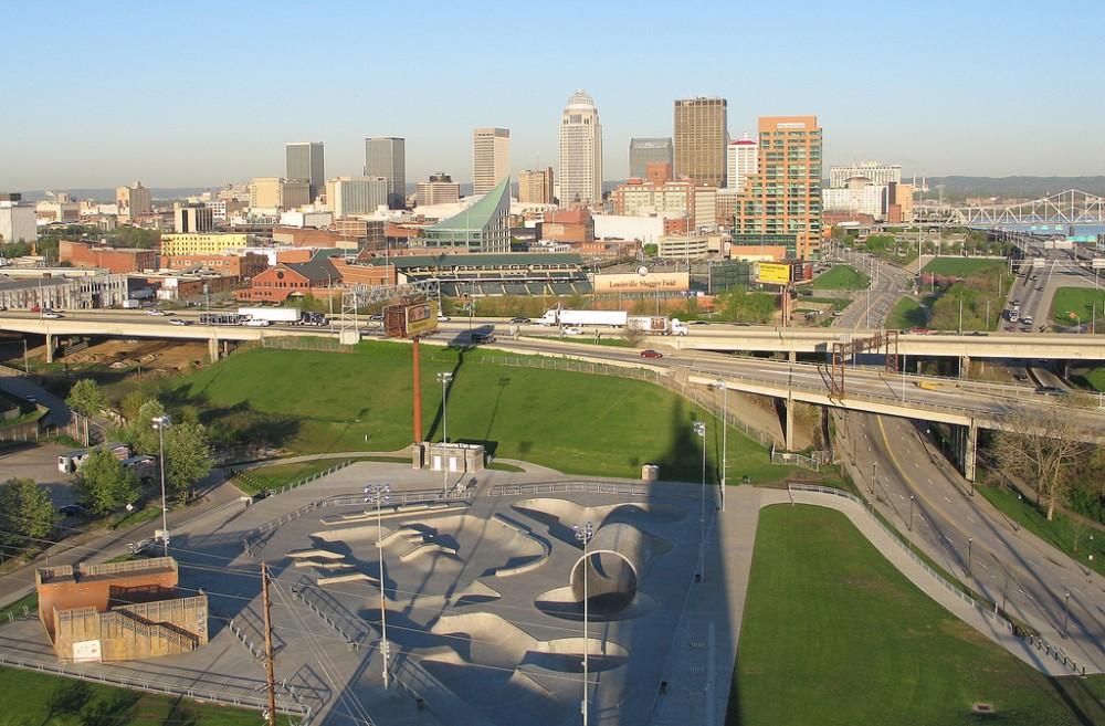 Louisville Extreme Skatepark © Louisville Images Flickr