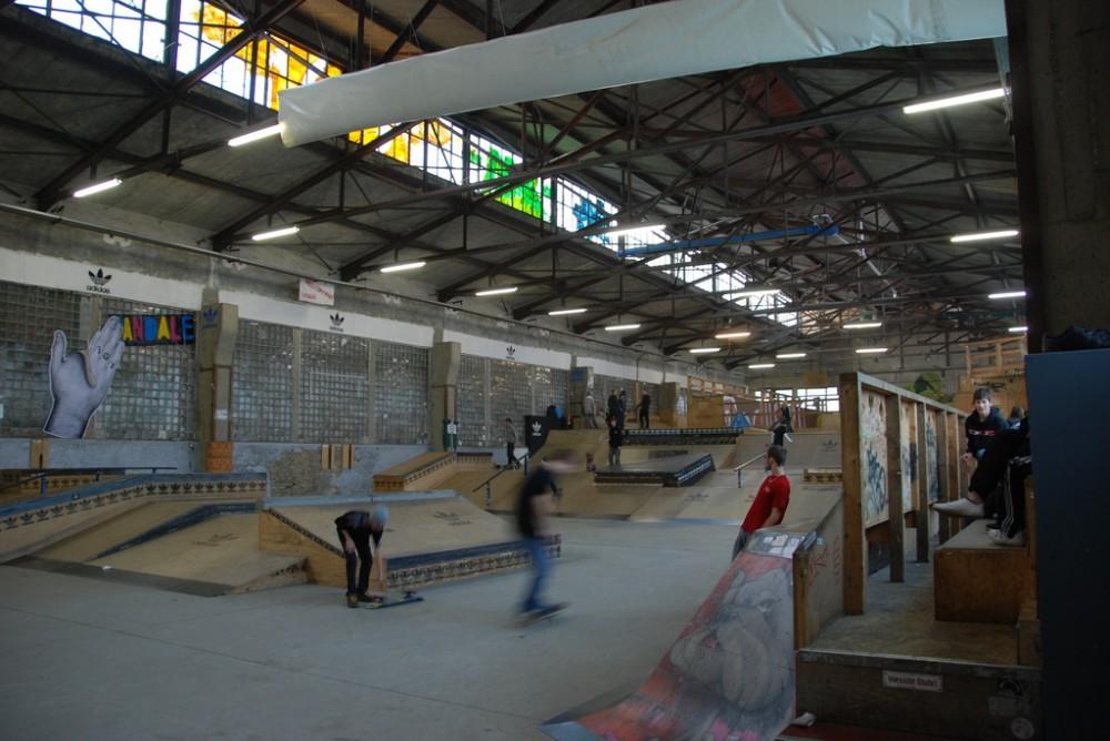 Skatehalle Berlin (Berlín, Alemania) © tehael, vía Flickr.