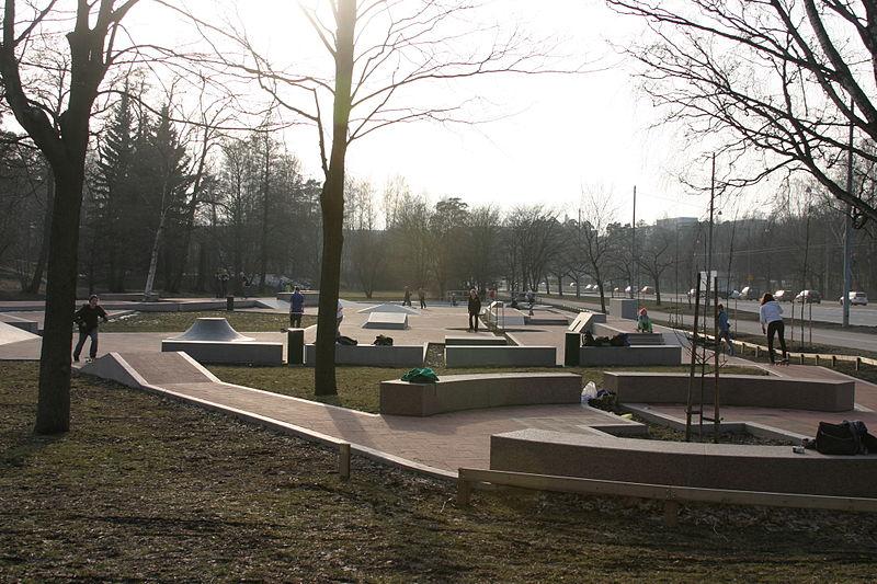 Micropolis Skatepark en Helsinki, Finlandia ©T. Herttua, vía Wikimedia Commons.