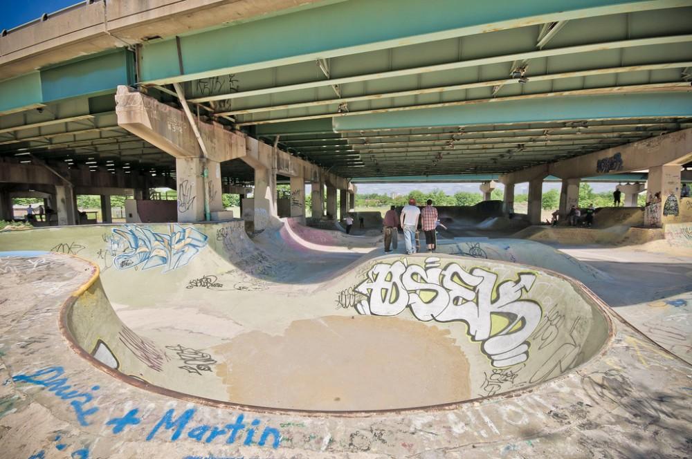 FDR Skatepark ©vsai, vía Flickr